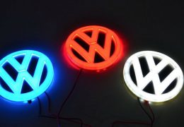 logos-golf-volkswagen-lumineux-photo