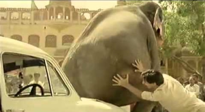 pub-peugeot-206-inde-photo-elephant