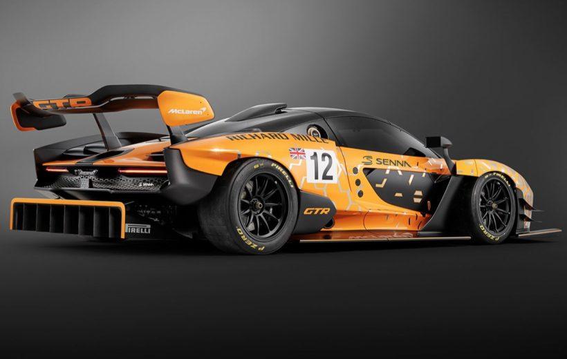 photo McLaren Senna GTR